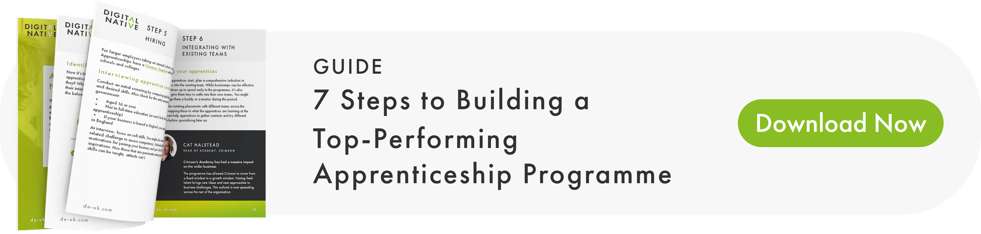 7 Steps to Building a Top-Perfroming Apprenticeship Programme - Download Now